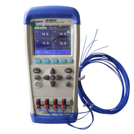 EODUDO-Meters Circuit Testers AT4732 Multi-Channel Temperature Recorder 32 Channels Display Simultaneously Multi Testers