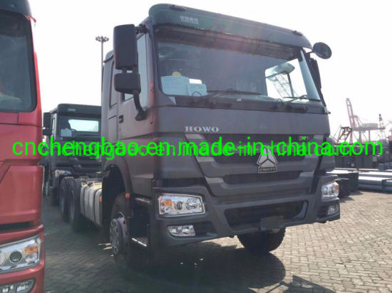 Terex HOWO Tractor Truck 371HP 6X4 4X2 pictures & photos