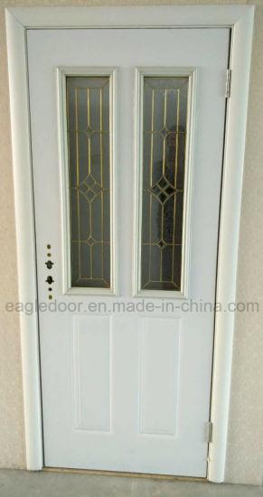 China Two Glass American Steel Door (EF-A007) - China Front Door ...