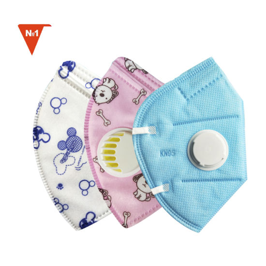 Disposable N95 Kn95 Level Use Latex Free Nonsterile Kids Face Mask