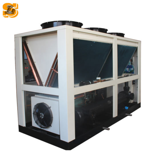 Double Compressor Industrial Water Cooled Screw Chiller pictures & photos