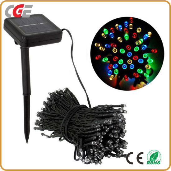 Solar Powered LED Outdoor Christmas String Light Best Price Holiday LED Lighting pictures & photos