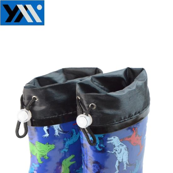 Hotsale New Design Colorful Kids Rubber Rain Boots pictures & photos