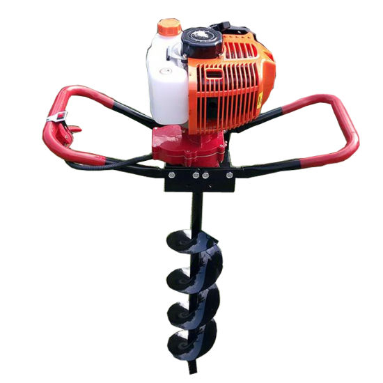 Portable Hand Operated Earth Auger for Tree Planting