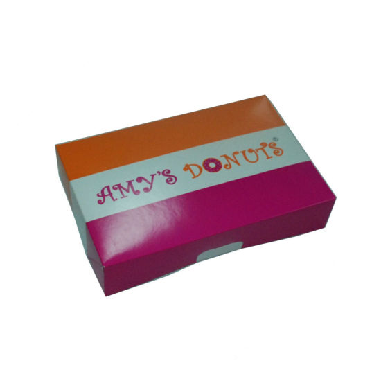 Direct Factory Custom Handle Ivory Board Paper Box with Low Price