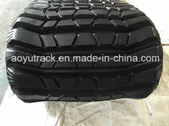 Rubber Tracks for Caterpillar 287b Compact Loaders pictures & photos