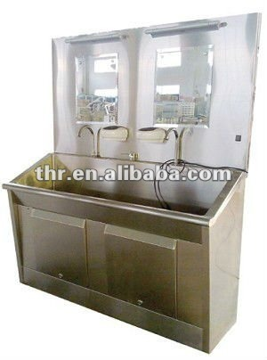 Stainless Steel One-Person Scrub Sink (THR-SS011) pictures & photos