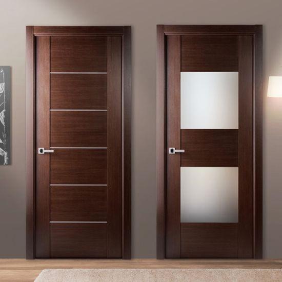 China Interior Bedroom Entry Modern Teak Wood Main Door Latest Design Wooden Doors China Wood Door Mdf Door