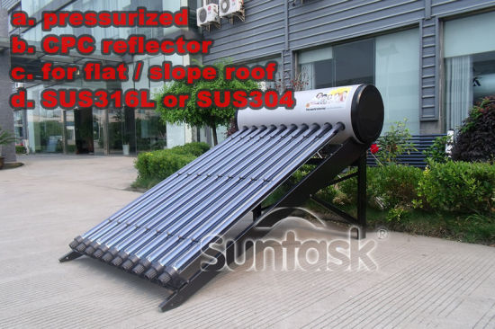 Suntask 123 Solar Energy High Pressurized Solar Water Heater