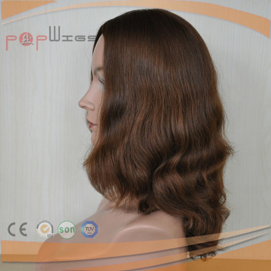 European Hair Skin Top Wig (PPG-l-01574) pictures & photos