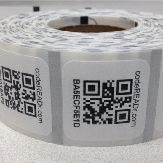 High quality qr code sticker printing