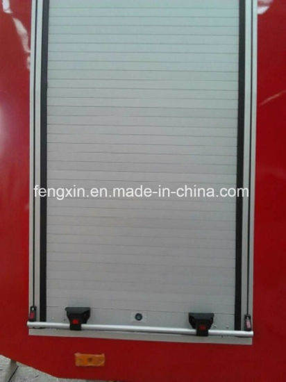 Fire Equipment Aluminum Roller Shutter Doors for Emergency Rescue Trucks