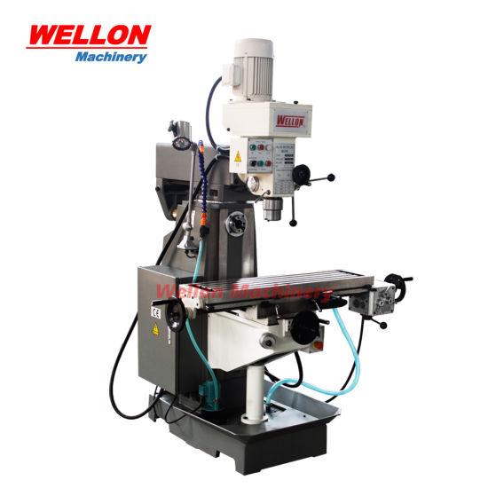 Professional Drilling Milling Machine (Universal Milling drilling machine price ZX7550CW ZX7550C)