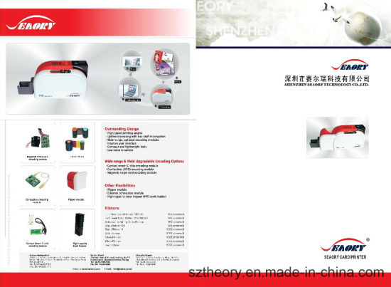 Dual-Sided RFID Card Printer and Plastic Card Printing Machine pictures & photos