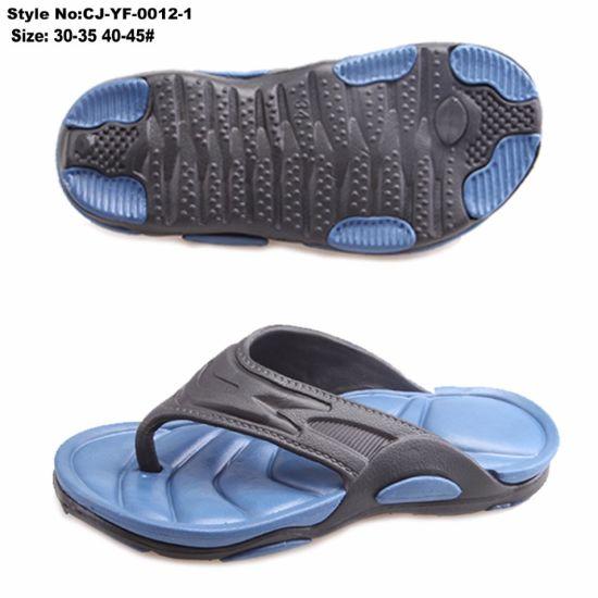 8e6588d1f China Men′s EVA Flip Flop with Double Color - Flip Flops China