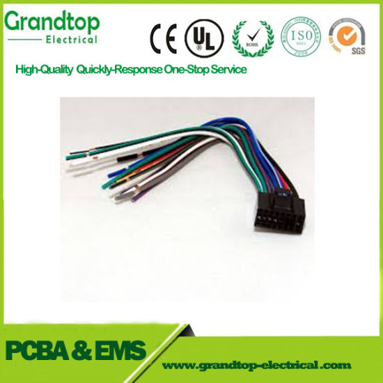 China Electronic Equipment Male and Female Wire Harness Cable ...