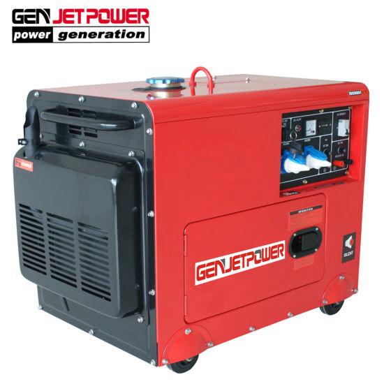 Portable Generator 3kVA 5kVA 6kVA Small Silent Diesel Generator