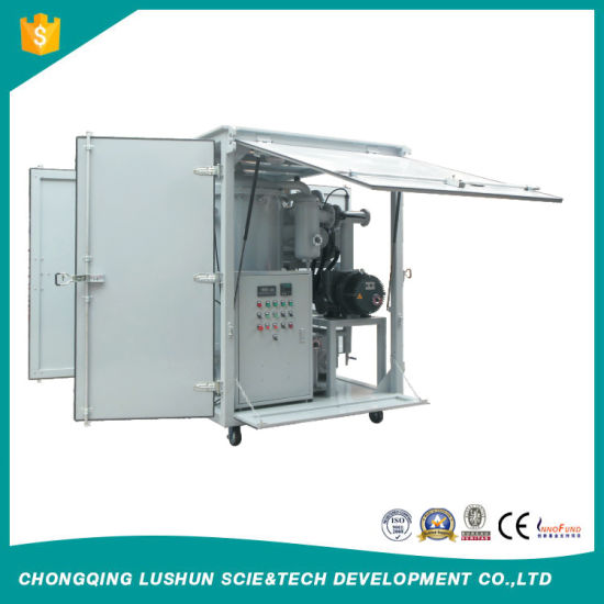 High-Vacuum Transformer Oil Filtration and Dehydration Plants pictures & photos