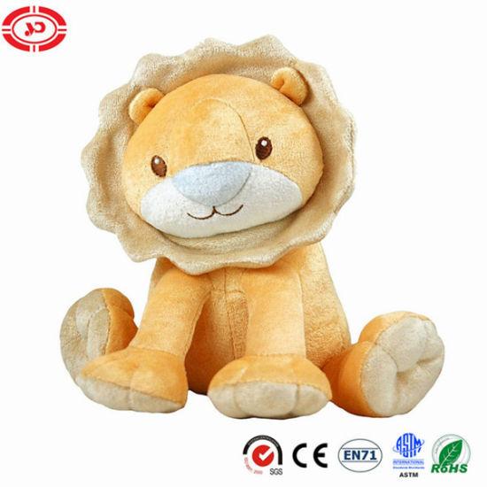 Festival Day Gift Sitting Lion Plush Animal Custom Toy