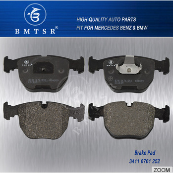 OEM 34116761252 Auto Spare Parts Front Brake System Pad for BMW E38 E39 X5 E53 740I