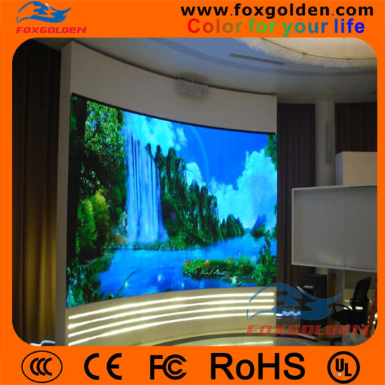 Indoor P5 Full Color SMD Super Slim LED Advertising Display Panel pictures & photos