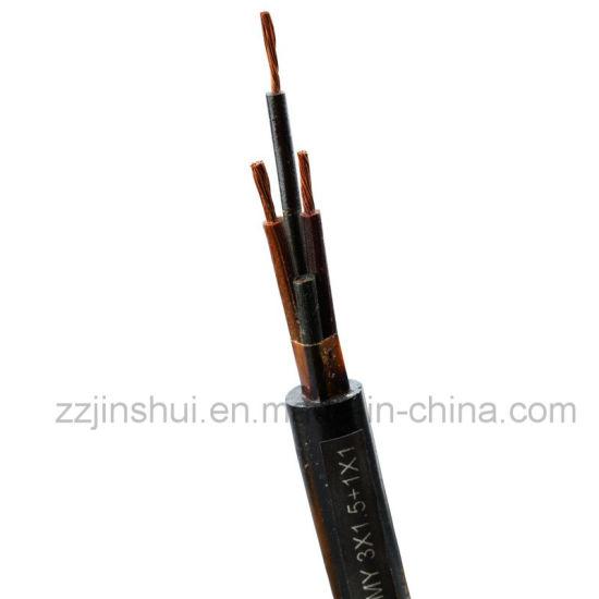 Multi-Core General Rubber Flexible Mine Cable (3-1.5+1-1)