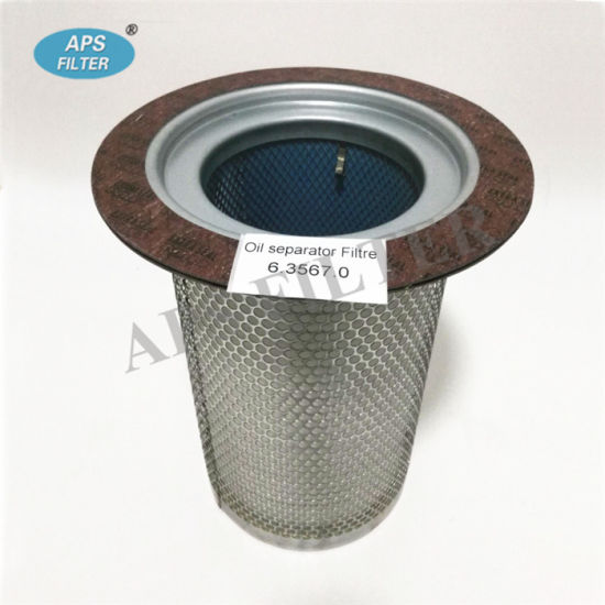 6.2013.0 Air//Oil Separator Designed for use with Kaeser compressors