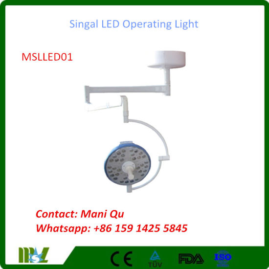 Hospital/ Clinical Surgery LED Operating Light (MSLLED01)