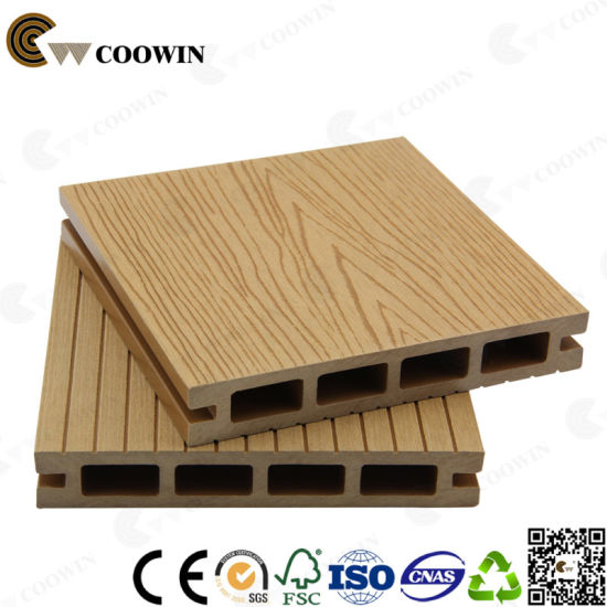China New Material Recycle Wpc Composite Floor Tw 02b China