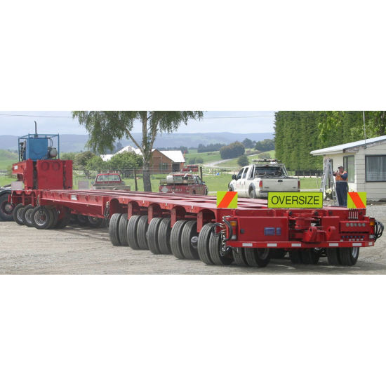 Loading 200t Hydraulic Rotary Axles Modular Trailer pictures & photos