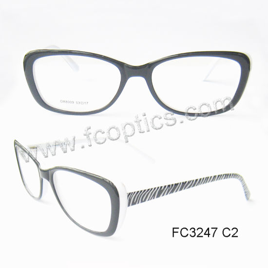 China Cat Eye Acetate Optical Frames for Young Lady - China Optical ...