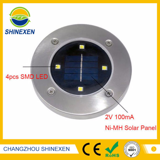 2V 100mA Waterproof Solar Save Energy Light pictures & photos