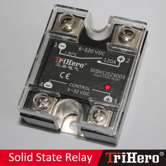 120A DC/DC Single Phase Solid State Relay SSR