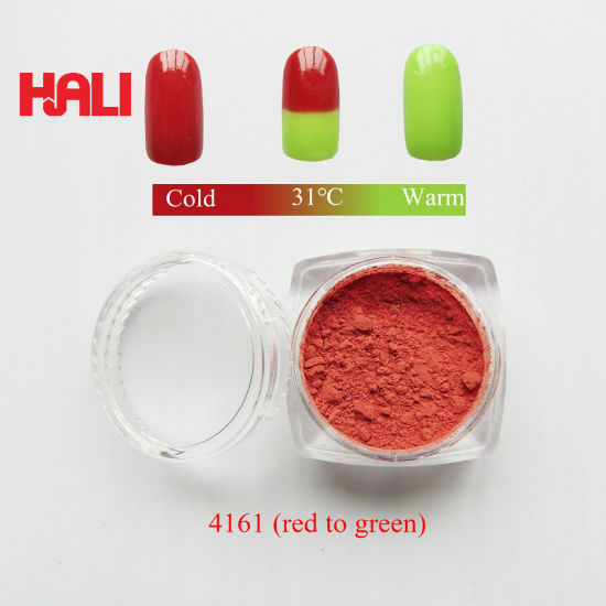 Red to Green Temperature Active Powder (item: HLR-4161)