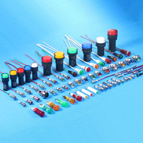12mm Red 120V LED Indicator Light (MDX-14A) pictures & photos