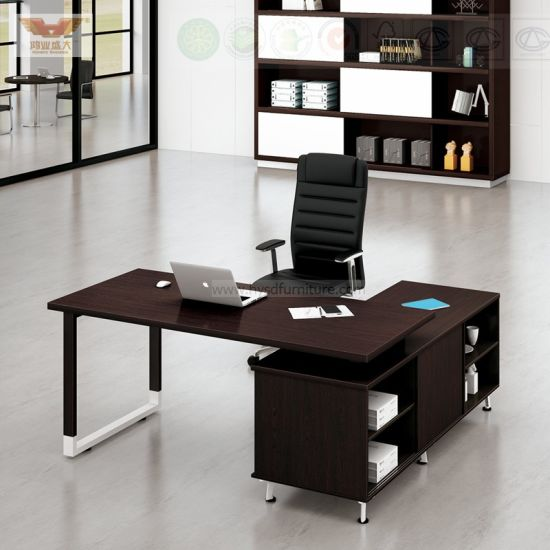 Modern Executive Desk Laminate Office Desk For Office Project
