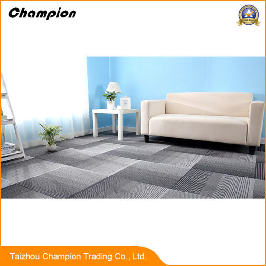 Dm00 Pvc Indoor Stadium Carpet Tiles With Good Water Resistance And Skid