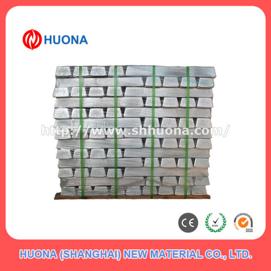 Magnesium Zirconium Mgzr Alloy Ingot K1a pictures & photos