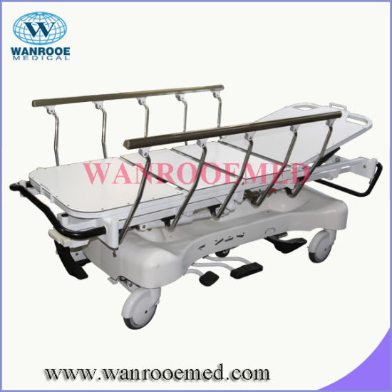 Hydraulic Transfer Stretcher with 3 Stages Side Rail pictures & photos
