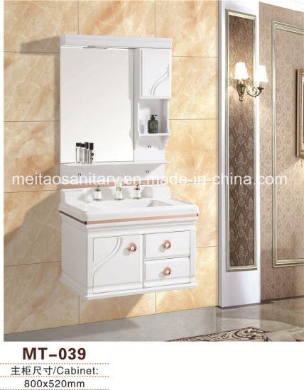 Hot Sale PVC Bathroom Sanitaryware Cabinet Vanity with Best Price