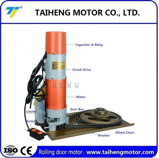 AC Shutter Door Motor with Factory Price/High Quality