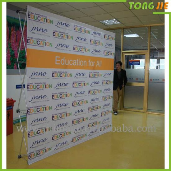 China Fabric Printing Exhibit Displays 3x3 Pop Up Stand Wall