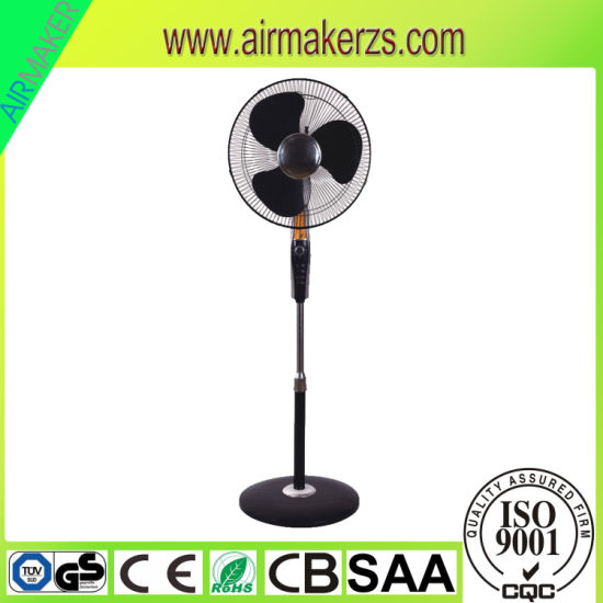 Mexico New 16'' Electric Plastic Mesh Grill Stand Fan with SAA/Ce/GS