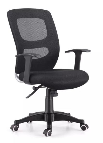 (SZ-OCM16) Hot Sell High Quality Classic Office Furniture Black Mesh Staff Room Office Chair