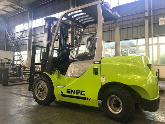 Carretilla Elevadora 3.5 Ton Diesel Forklift with Isuzu Engine pictures & photos