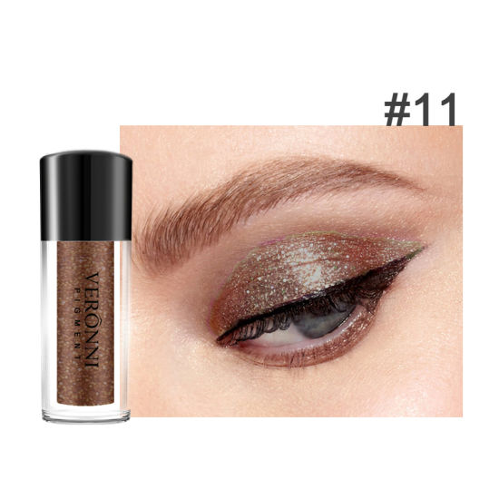 12 Colors Eye Makeup Eyeshadow Powder Shiny Loose Glitter Powder Eye Shadow Waterproof Shimmer Pigments 18g pictures & photos