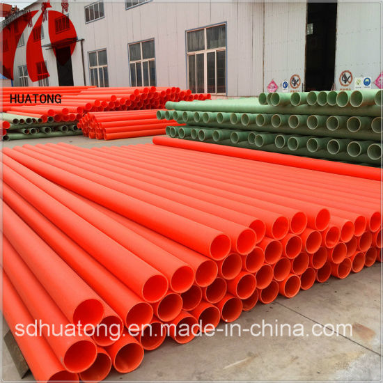 Mpp Power Cable Pipe/ Protection Plastic Sleeve