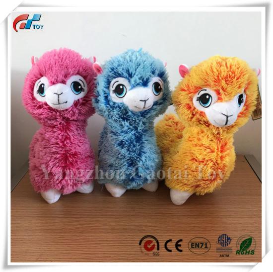 Stuffed Toy Alpaca, Plush Alpaca Toy, Soft Alpaca Toy