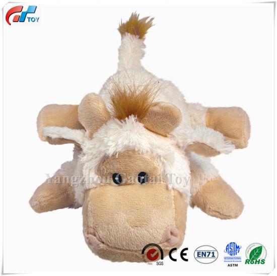 Various Design Dog Squeaky Toy Plush Sheep / Monkey /Wolf /Unicorn / Elephnat / Moose Animal Dog Toys