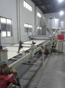 WPC Decoration Board Extrusion Machine pictures & photos